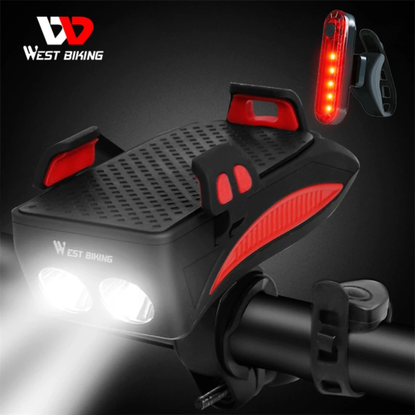 WEST-BIKING-400-lumen-Multifunction-Bike-Light